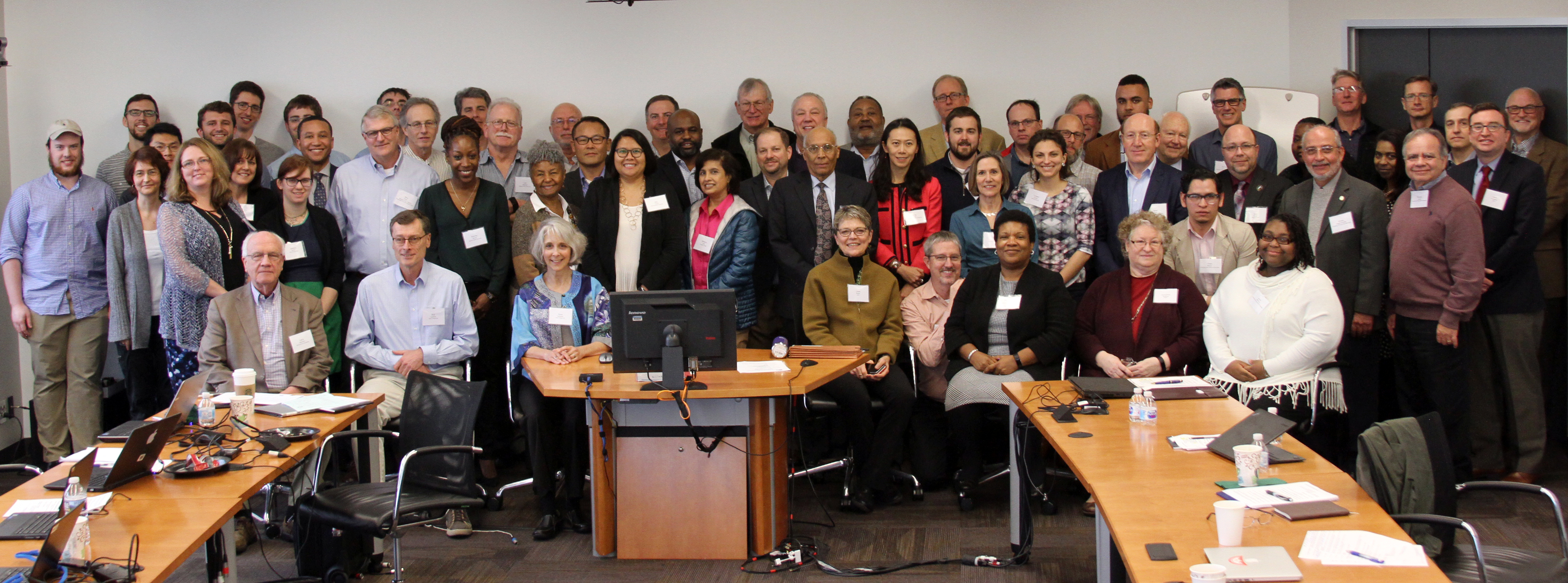 CRC staff, researchers, advisory board, federal reviewers and guests gathered for the 3rd PI meeting from Feb. 28-March 1, 2018.