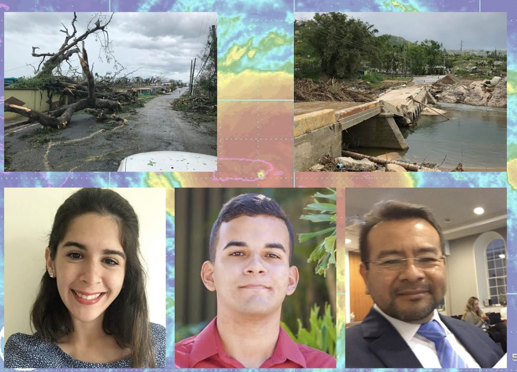 Verónica Díaz Pacheco, bottom left, was part of the UPRM team with fellow student Frederick Gonzalez-Roman and Dr. Mauricio Cabrera-Rios who worked with CRC partners at Jackson State University this past summer.